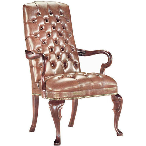 Our Quick Ship Traditional Series Tufted Goose Neck Arm Chair is on sale now.