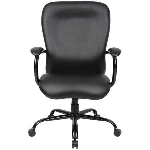 Our Heavy Duty 350 lb Capacity CaressoftPlus™ Chair with Padded Arms - Black is on sale now.