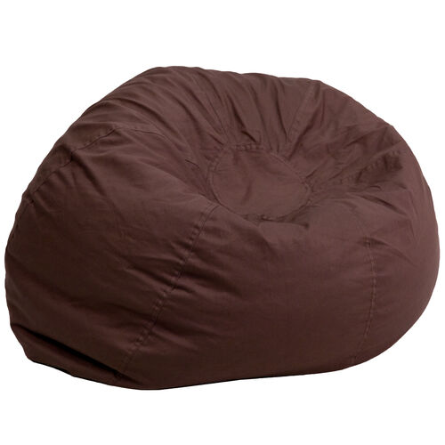 Our Oversized Solid Brown Bean Bag Chair is on sale now.