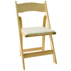 American Classic Natural Wood Folding Chair