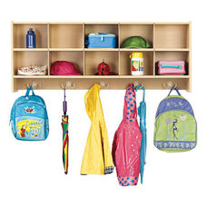 Young Time® 10-Section Wall Locker Unit