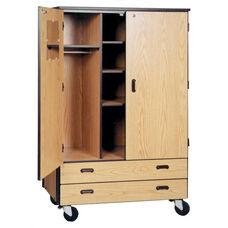 Mobile Teachers Storage w/Drawers