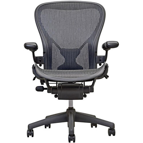 Aeron Chair Open Box Highly Adjustable Posture Fit Task Chair - Carbon
