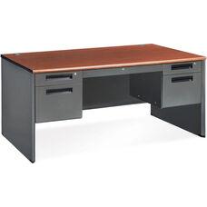 Executive Double Pedestal Panel End Credenza 29.50