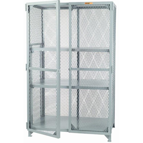Our Welded Storage Locker with 2 Adjustable Center Shelves - 24