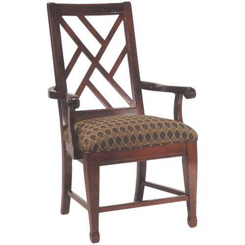 2550 Arm Chair w/ Upholstered Seat - Grade 1