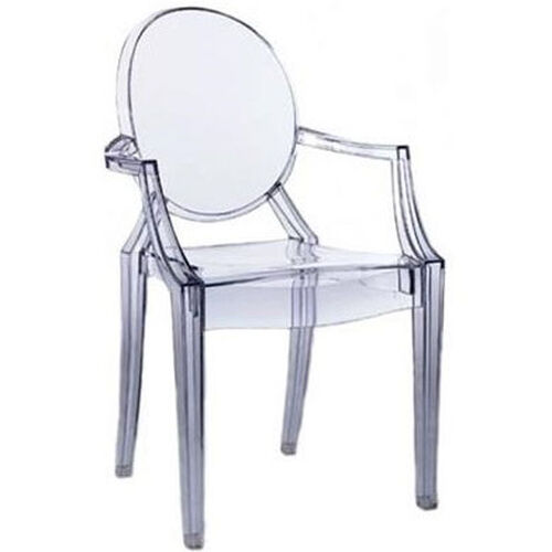 Our Polycarbonate Stackable Kage Chair with Arms is on sale now.