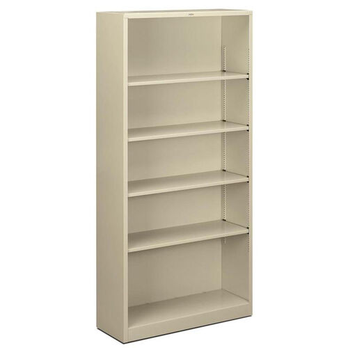 Our The HON Company Heavy Duty Metal 5 Shelf Bookcase - Putty is on sale now.