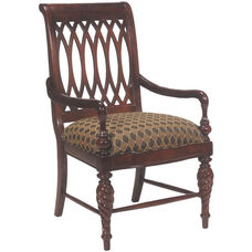 2530 Arm Chair w/ Upholstered Back & Seat - Grade 1