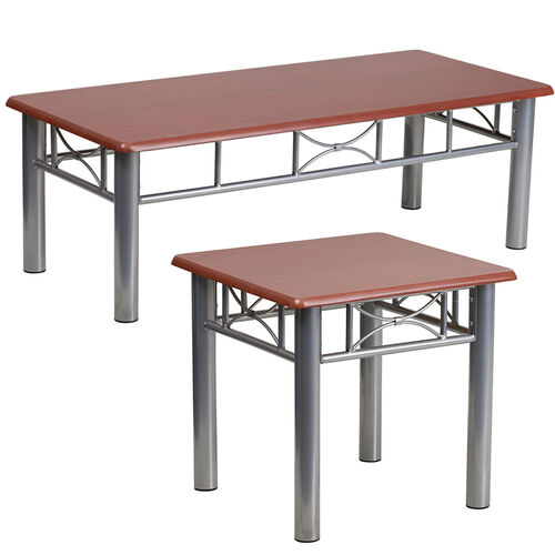 Our Mahogany Coffee and End Table Set is on sale now.