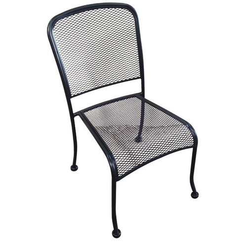 Our Outdoor Wrought Iron Stackable Side Chair is on sale now.