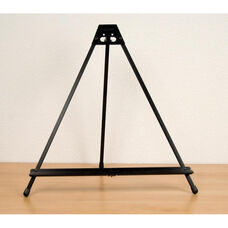 Light Weight Table Top Folding Presentation Easel with Adjustable Tilt - Black