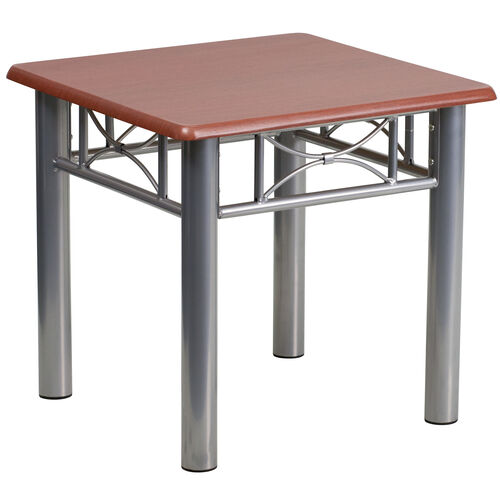 Our Laminate End Table with Steel Frame is on sale now.