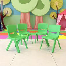 Green Plastic with Green Plastic finish