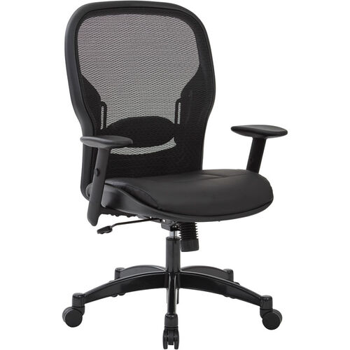 Our Space Professional Breathable Mesh Back Office Chair with Bonded Leather Seat is on sale now.