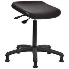 Indy 300 Series Basic Swivel Sit and Stand Stool with Polyurethane Seat