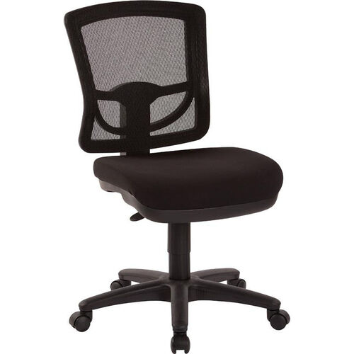 Our Pro-Line II ProGrid Mesh Back Armless Task Chair with Padded Seat - Coal is on sale now.