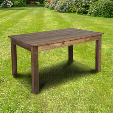 "60"" x 38"" Rectangular Antique Rustic Solid Pine Farm Dining Table"