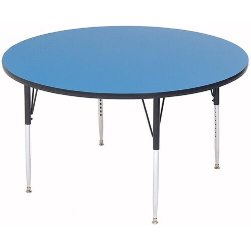 Adjustable Height Round Laminate Top Activity Table - 36