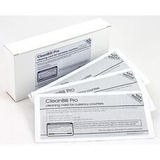 CleanBill Pro Cleaning Card, with Ridges for Deeper Cleaning for Currency Counters - Box of 10