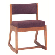 2172 Side Chair: Two- Position with Upholstered Back & Seat - Grade 1