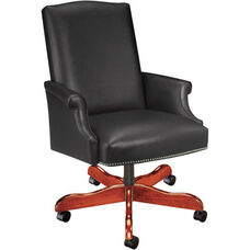 Quick Ship Value Traditional Executive Swivel Chair