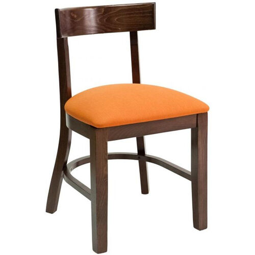 Our Classic Indoor Collection Beechwood Small Rectangular Back Side Chair - Walnut is on sale now.