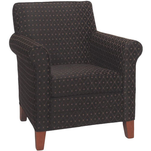 Our 2475 Upholstered Lounge Chair w/ Tapered Wood Feet - Grade 1 is on sale now.