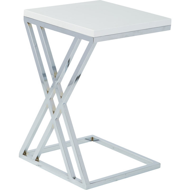 Office Star Products Ave Six Wall Street MultiPurpose Side Table