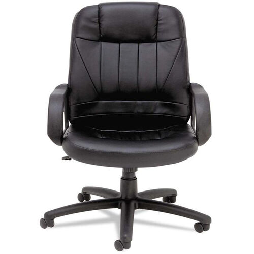 Our Alera® Sparis Series Executive High-Back Swivel/Tilt Chair - Leather - Black is on sale now.