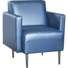 Quick Ship Eve Club Chair with Arms