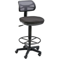 Griffin Height Adjustable Drafting Chair - Black