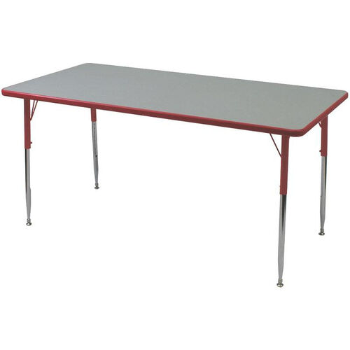 Our Rectangle Shaped Particleboard Juvenile Activity Table - 30
