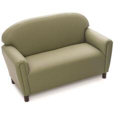 Just Like Home Enviro-Child School Age Sofa - Sage - 45