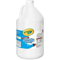 Crayola Washable Paint - 1 Gallon - White
