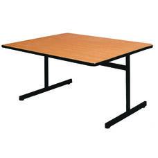 Square Pedestal Base Table