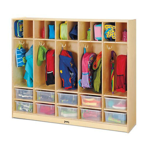 Our Large Locker Organizer - 10 Clear Tubs is on sale now.
