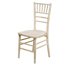 American Classic White Wash Wood Chiavari Chair