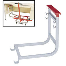 Single Pedestal Steel Frame Desk Lift Attachment with Powder Coated Finish