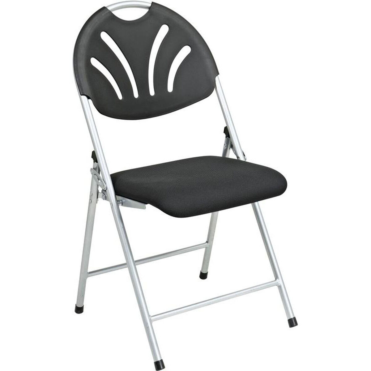 Office Star Products Work Smart Plastic Folding Chair With