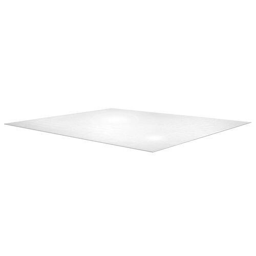Cleartex XXL Polycarbonate Square General Office Mat For All Pile Carpets (60