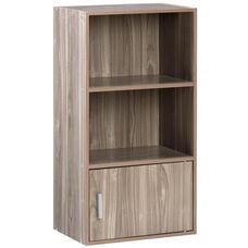 11.5''L x 16.5''W x 31.5''H Adina Small Bookshelf - Walnut
