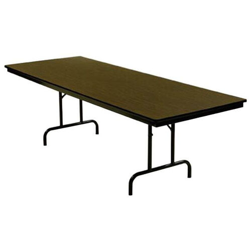 Customizable 800 Series Multi Purpose Rectangular Deluxe Hotel Banquet/Training Table with Particleboard Core Top - 36