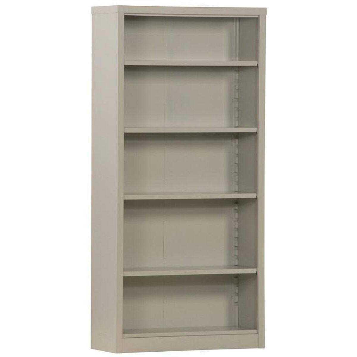 Snap 5 Shelf Bookcase 4 Adjust Bq40 351372 05 Churchchairs4lesscom
