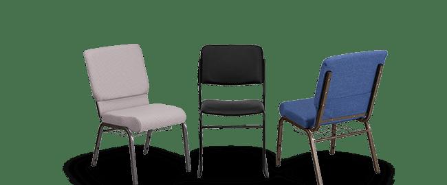 Metal Frame Church Chairs