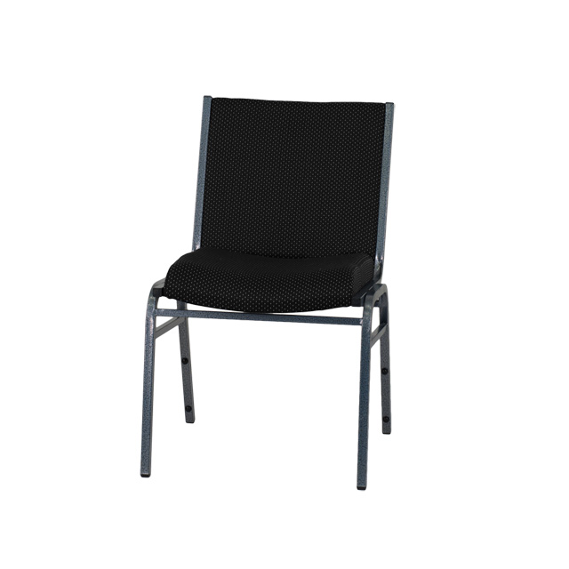 hercules series heavy duty black dot fabric stack chair. Black Bedroom Furniture Sets. Home Design Ideas